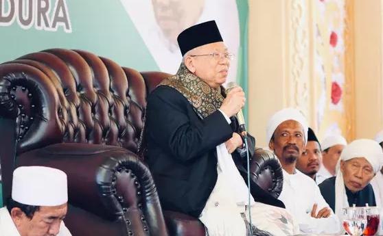 Ma'ruf Amin: Keberhasilan Pemerintah Tak Bisa Diukur dari Tebal-Tipisnya Tempe