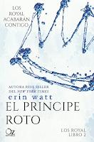 Resultado de imagen de portada el principe roto