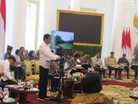 Presiden Jokowi Pimpin Sidang Kabinet di Istana Bogor