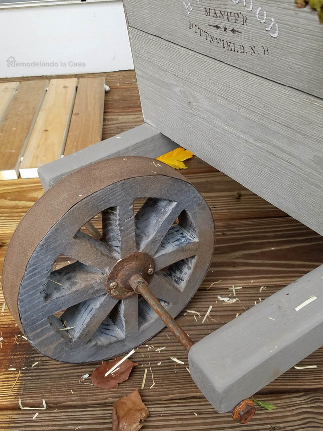 how to make a wheel