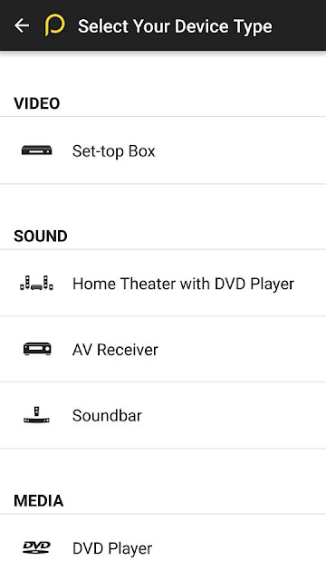 how to control your tv or any other electronic device using your android smartphone step 4