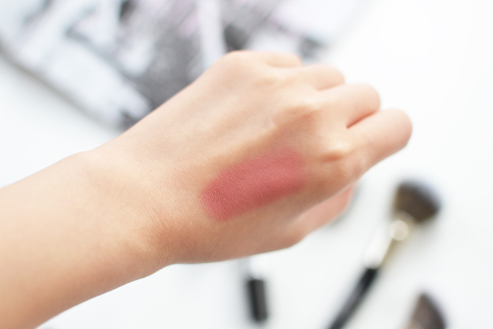 MAC Desert Rose Blush swatch