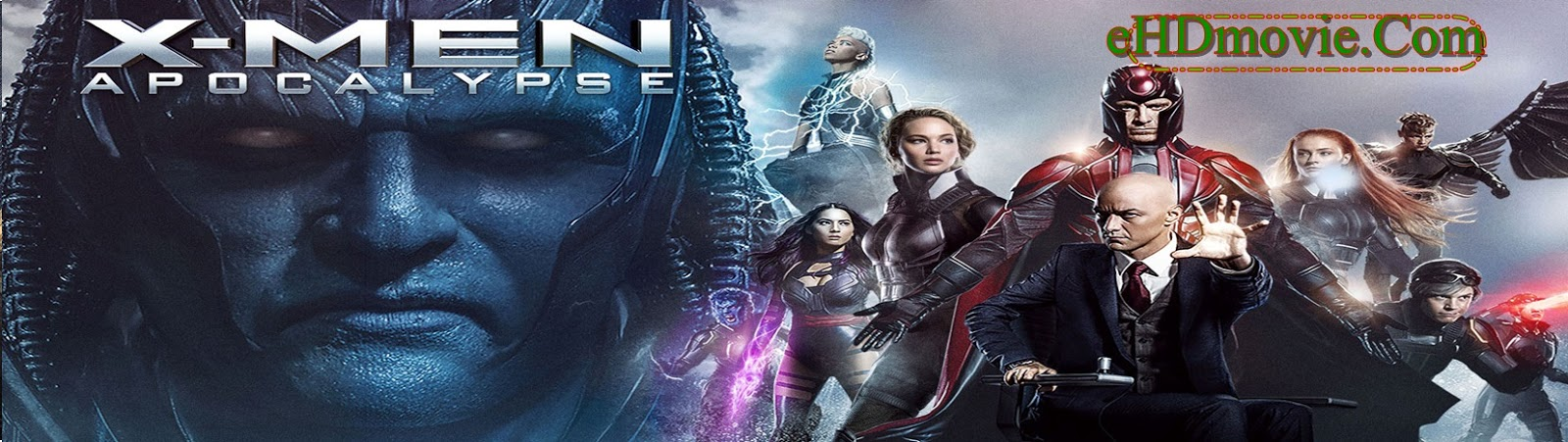 X-Men Apocalypse 2016 Full Movie Dual Audio [Hindi – English] 1080p - 720p - 480p ORG BRRip 450MB - 1.4GB - 3GB ESubs Free Download
