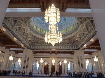 cupola della Grande Moschea del Sultano Qaboos