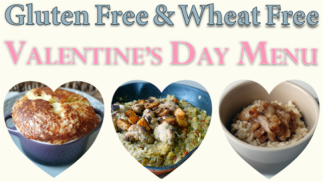 Valentine's Day Menu For Two Recipes - Deliciously Healthy & Gluten-Free