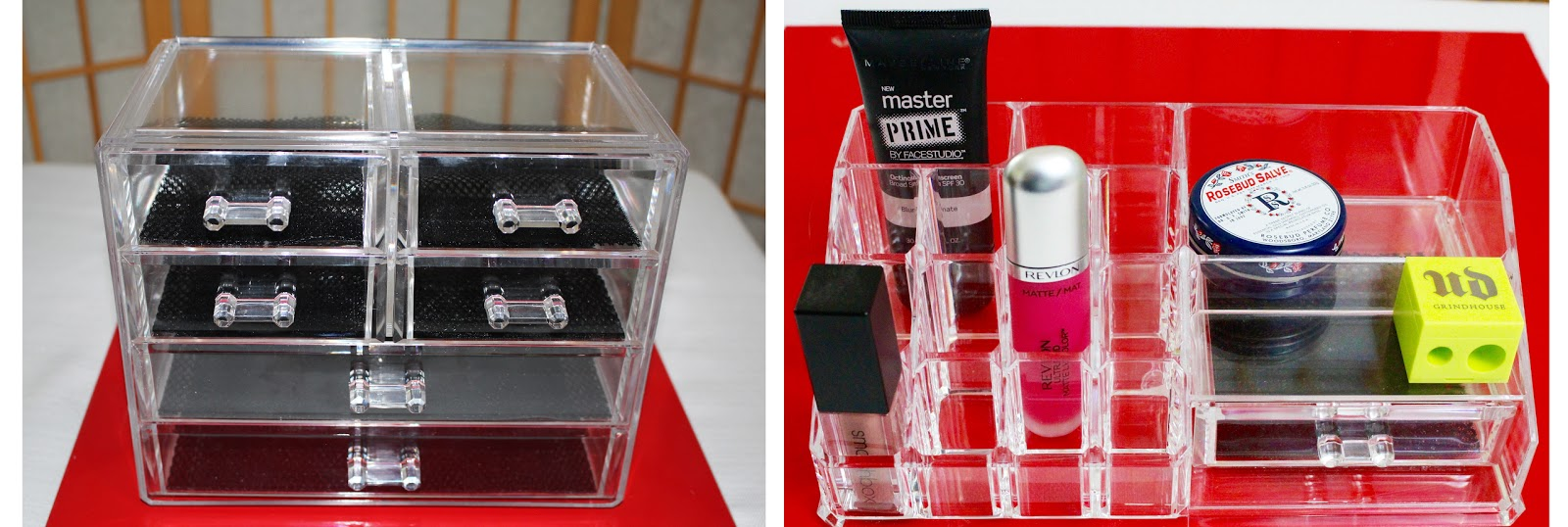 Amazon Acrylic Makeup Storage Cases Review