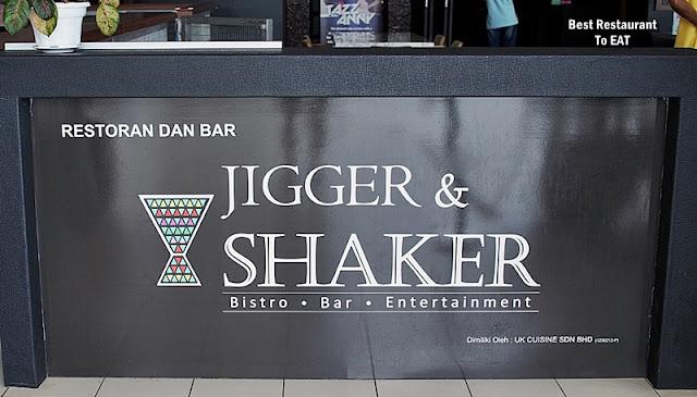 Jigger & Shaker Sendayan Seremban d'Tempat Country Club Seremban