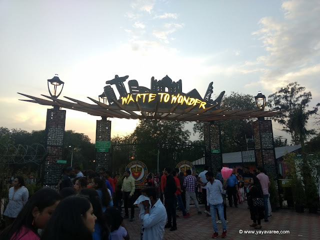 Waste to Wonder Park in Delhi, वेस्ट टू वंडर