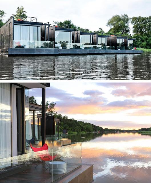 Отель из контейнера X2 River Kwai Resort