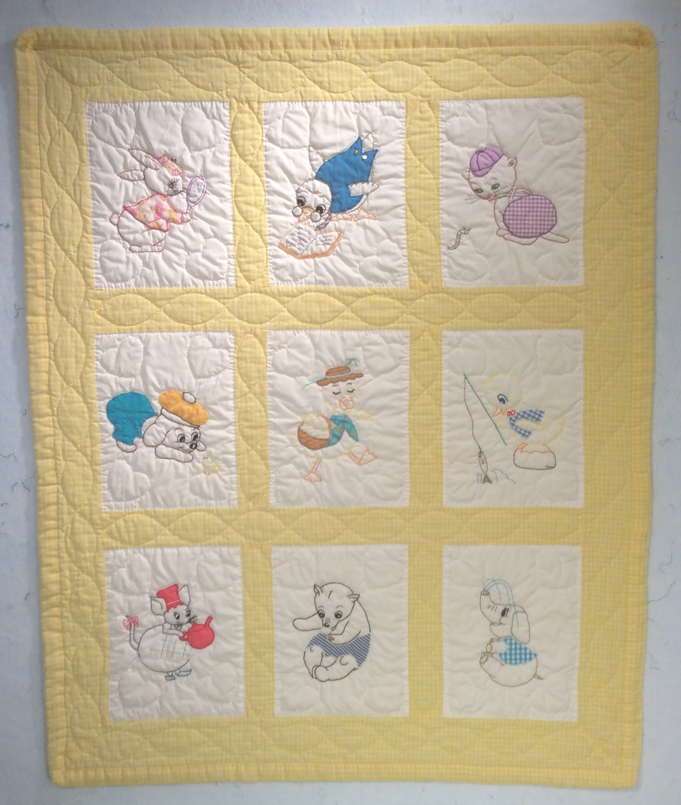 Allikat Quilts Throwback Thursday My First Baby Quilt