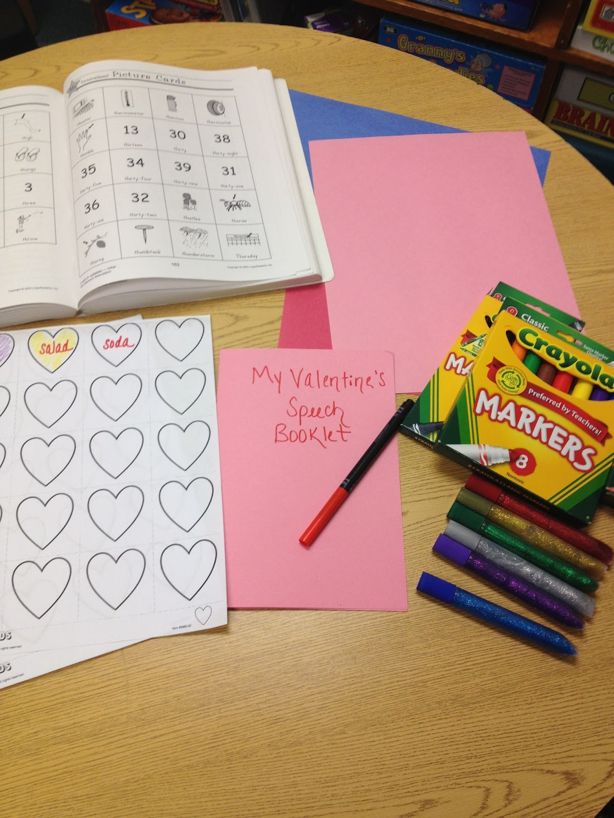 Live Love Speech Easy And Fun Valentine S Day Booklet
