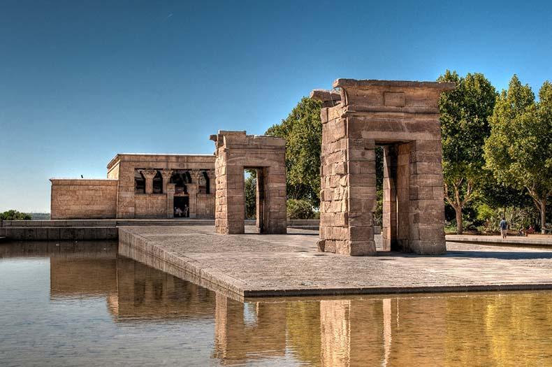 El Templo Egipcio de Debod | España