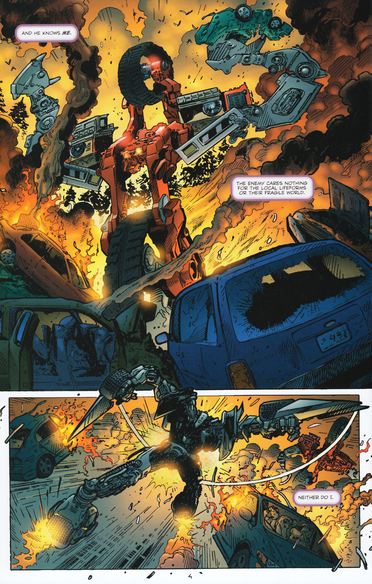 Read online Transformers: Tales of The Fallen comic -  Issue #2 - 5