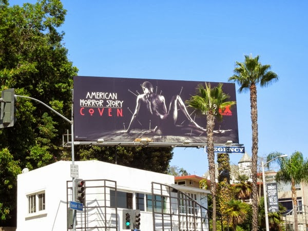American Horror Story Coven 3 billboard