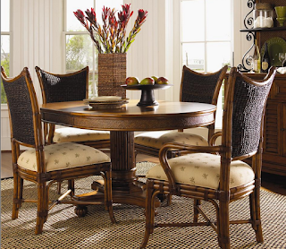Baers Mangrove Arm Chair in the Tommy Bahama Island Estate Collection