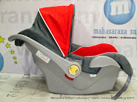 Infant Car Seat Pliko PK02 Carrier Red Grey