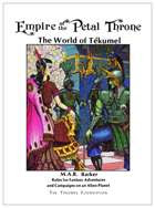 OSR Pick: Empire of the Petal Throne Re-Issue