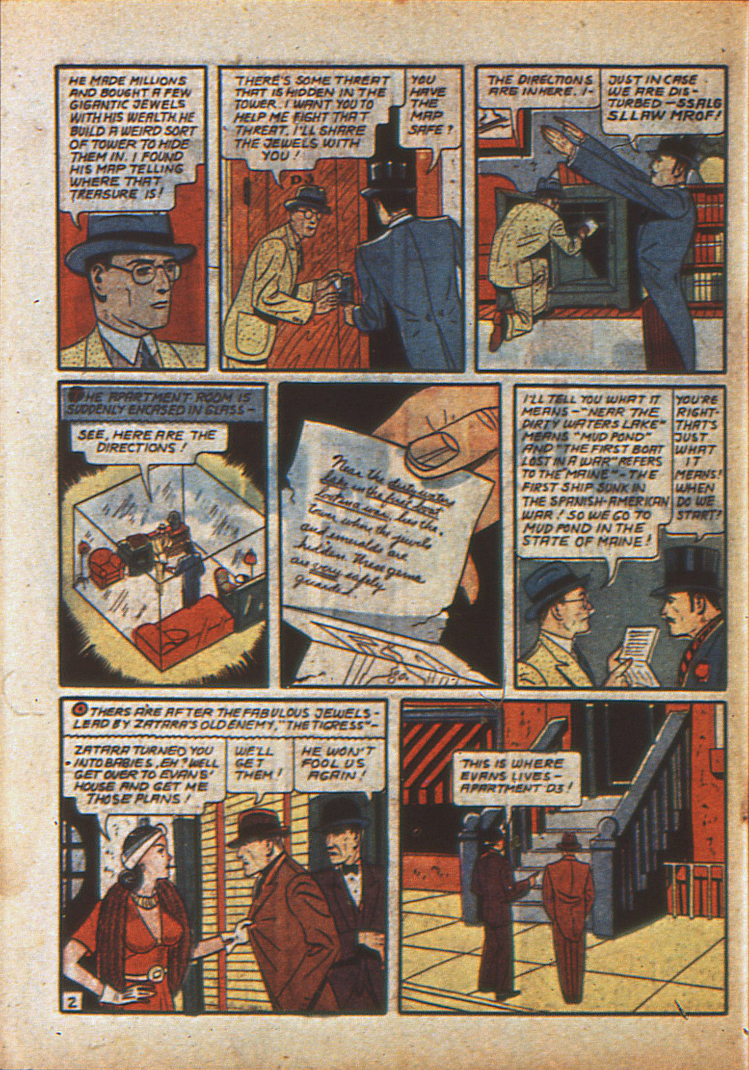 Read online Action Comics (1938) comic -  Issue #23 - 57