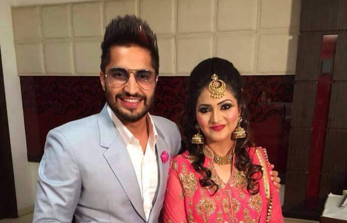 Jassi Gill Marriage Pics With Wife HD