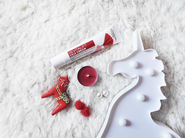 L´Oréal Paris Revitalift Cica Cream recenzia