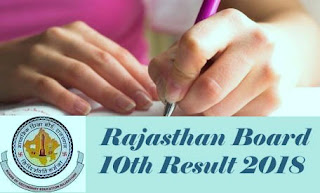RBSE Result 2018, RBSE 10th Class Results 2018, RBSE 10th Results 2018, Rajasthan 10th Result 2018, Rajasthan Board 10th Results 2018