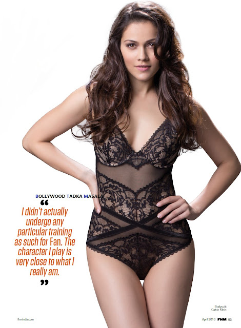 Waluscha De Sousa Hot Pictures From FHM India Magazine April 2016 Issue