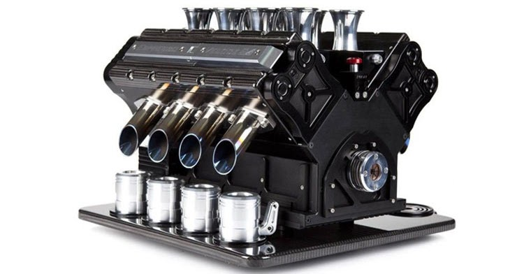 Built In Coffee Maker In Car : Check Out These Engine-Inspired Coffee Machines