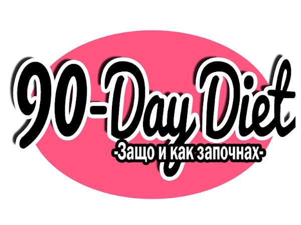 90-дневна диета: Защо и как започнах режима