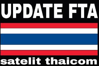 Frekuensi Channel FTA Satelit Thaicom 5 Terbaru 2017