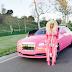 Dencia photos at Grammys  wore a PJ/Onesie