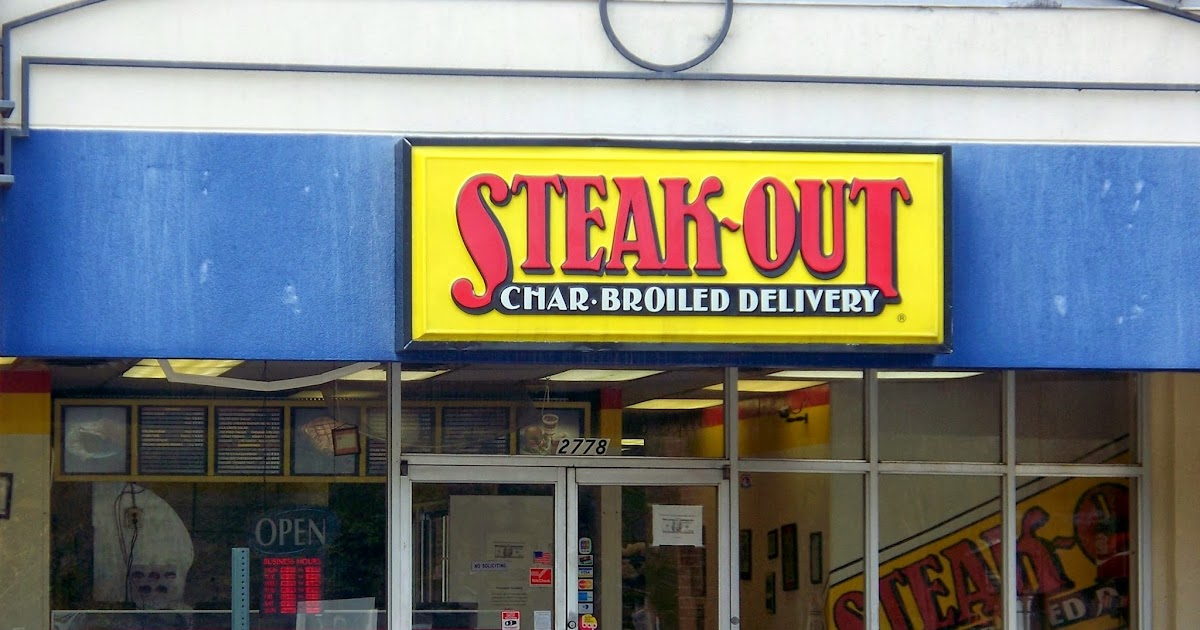 Steak Out Menu Macon Ga