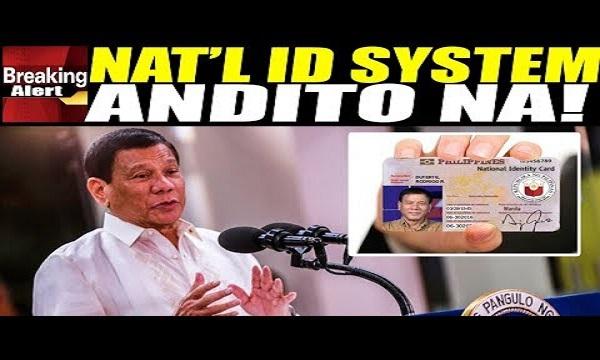 NATIONAL ID SYSTEM NANDITO NA SA WAKAS