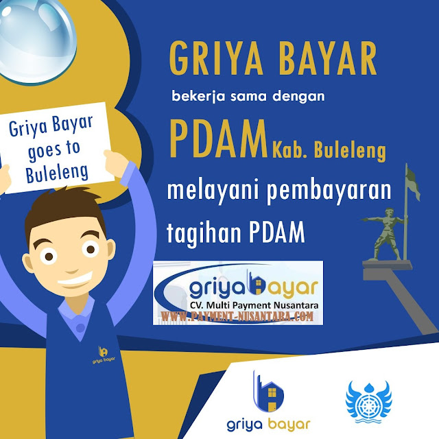 Daftar Griya Bayar PDAM Kabupaten Buleleng Bali