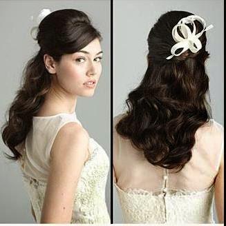 gaya rambut wanita untuk ke pesta 7