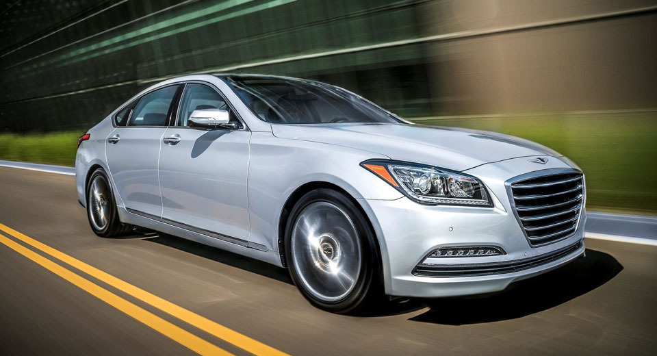 2017 Genesis G80 Available With N/A V6 And V8 In The US