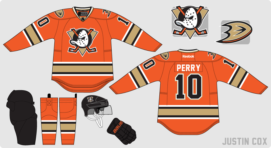 new arrival 219aa 491f4 The Art of Hockey: An Orange Ducks Third Jersey?