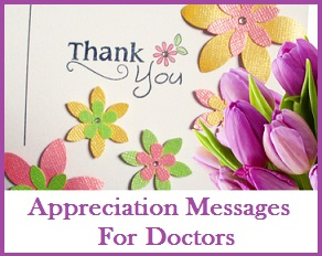appreciation messages and letters