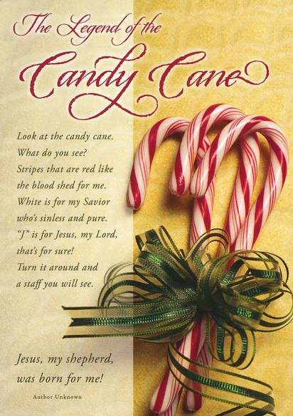 Yeshua Jesus Is Lord Happy Candy Cane Ing