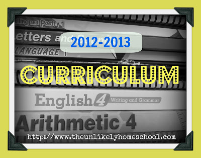 Homeschool Curriculum List