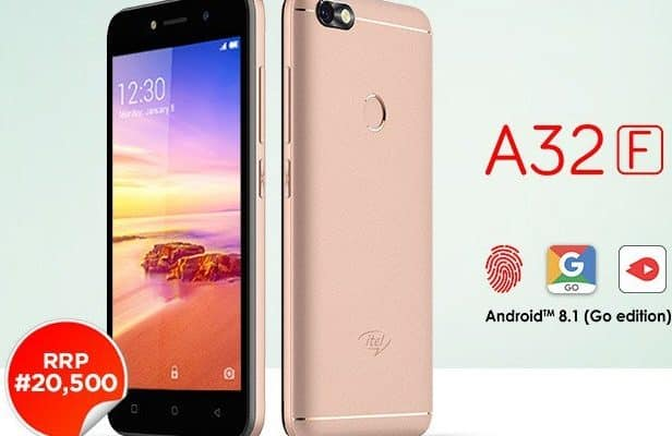Itel A32F Price in Nigeria, Review, Features & Full