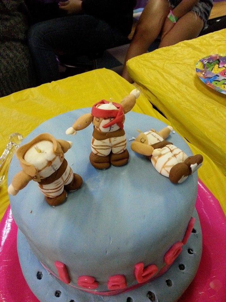Kaaren S Kakes Attack On Titan Cake