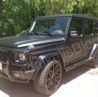 Super Eagles footballer Sylvester Igboun just got a 2017 G-Wagon SUV worth $129,000 - check it out!