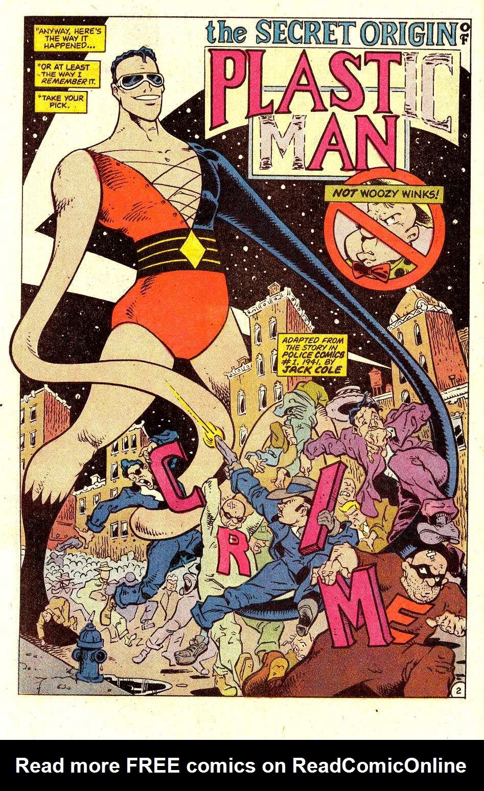 Read online Secret Origins (1986) comic -  Issue #30 - 23