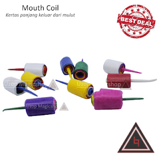 Jual alat sulap mouth coil