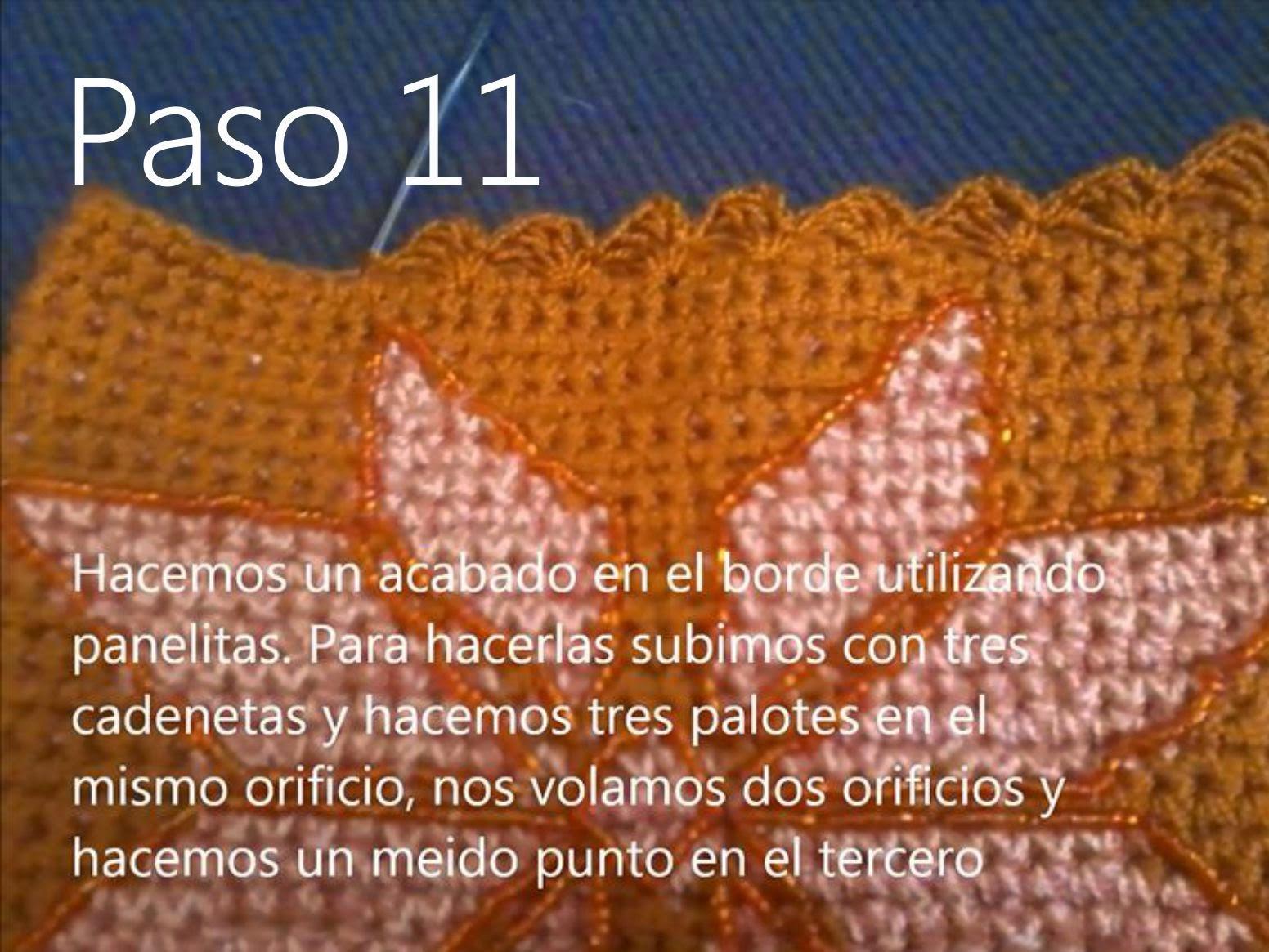 Bolso Naranja Paso 11