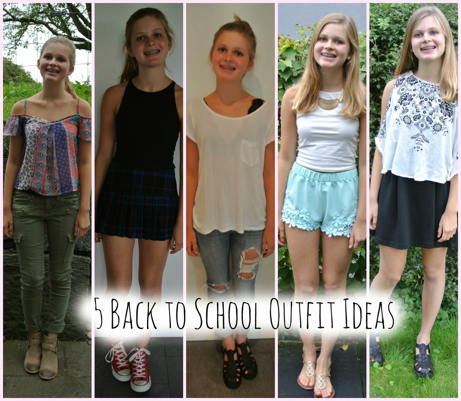 Outfit Ideas For School Summer
