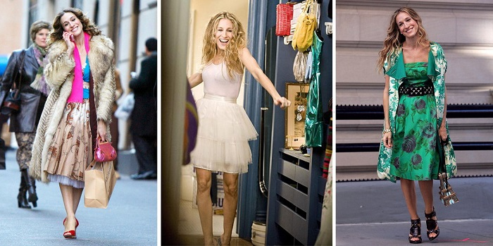 """Carrie Bradshaw """"Seks w wielkim mieście"""""""