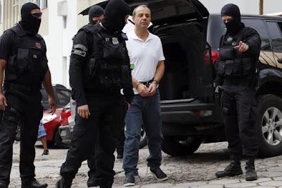 PF diz a Moro que algemas em Cabral foram uma excepcionalidade