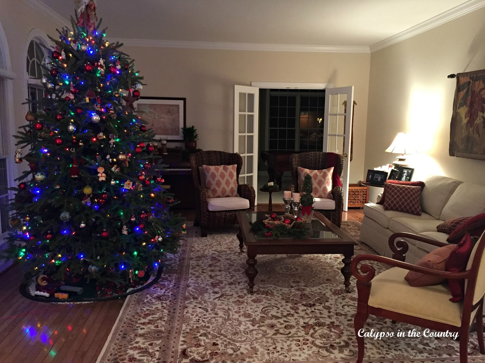 Living Room Christmas Tour Part 63