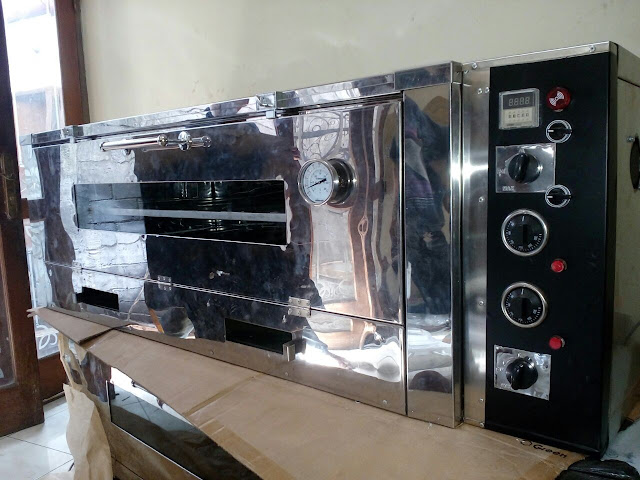 Oven Gas Stainless Semi Otomatis
